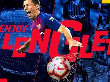 Lenglet, nuevo jugador del Barça