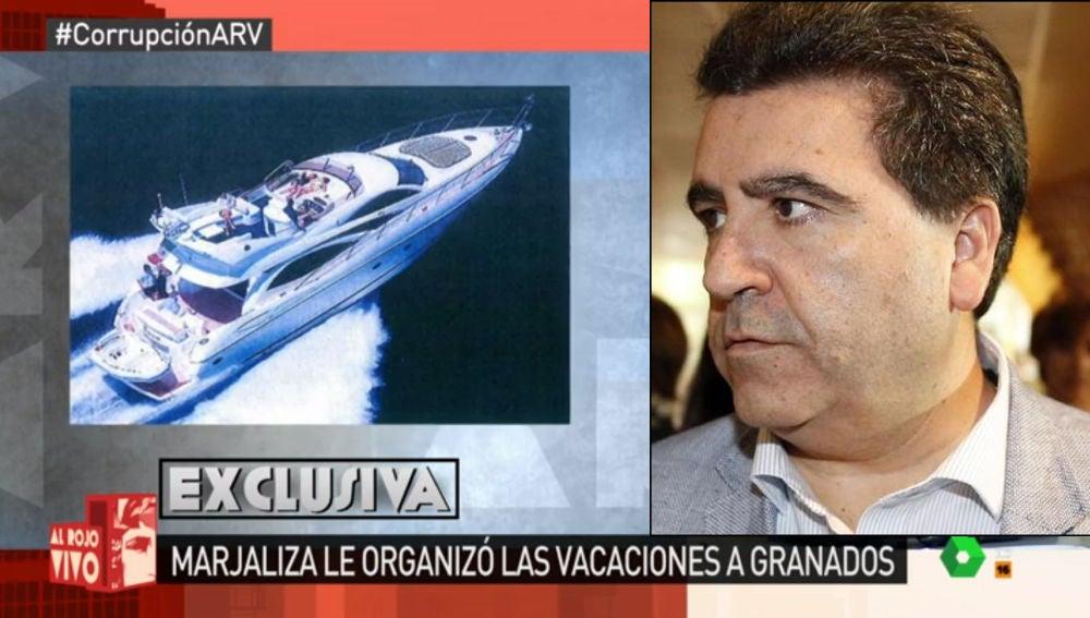 David Marjaliza organizó las vacaciones a Granados