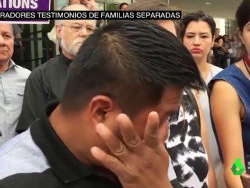 Un padre separado de su hijo en EEUU