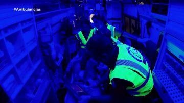 Ecografía abordo de una ambulancia