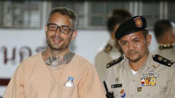 Artur Segarra a su llegada a la Corte de Tailandia