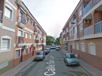 Vista de la calle donde han sucedido los hechos