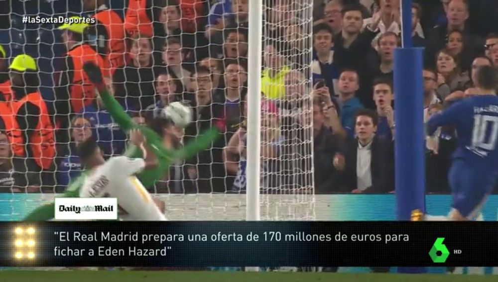Madrid a por Hazard