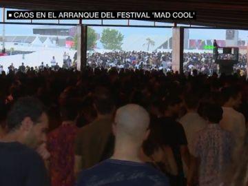 Caos en el arranque del festival Mad Cool