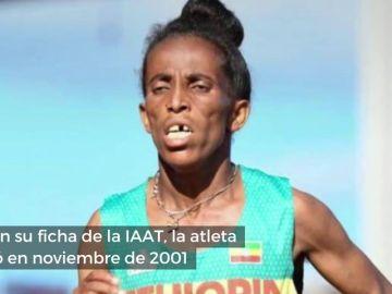 """Polémica por la """"dudosa"""" edad de la atleta etíope Girmwait Gebrzihair: sólo tiene 16 años"""