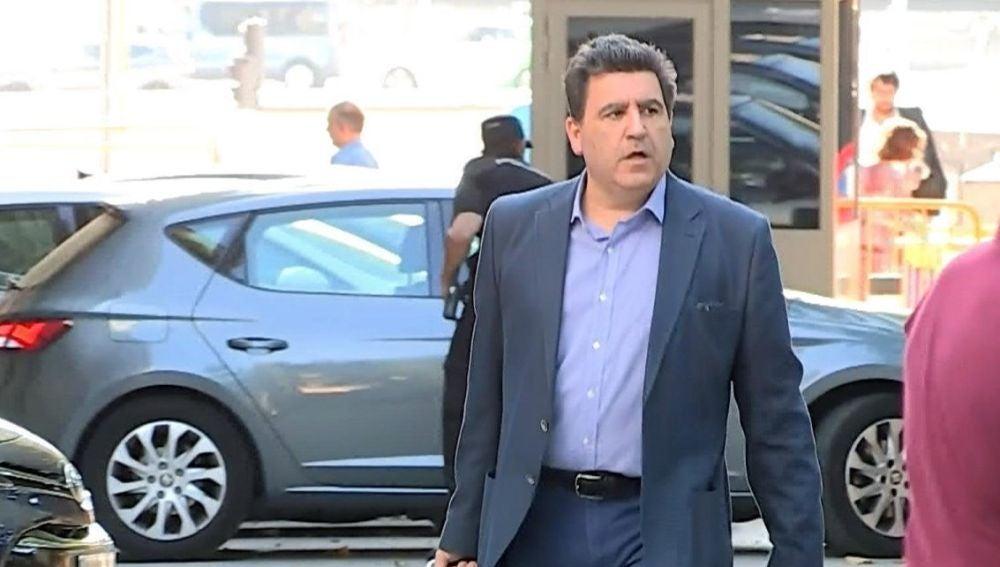 David Marjaliza a su llegada a la Audiencia Nacional