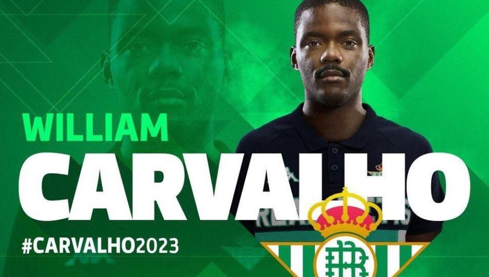 William Carvalho, nuevo jugador del Betis