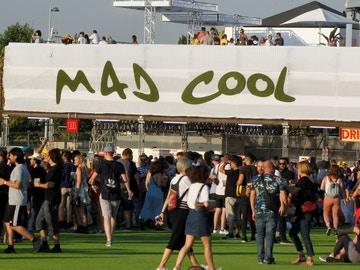 Accesos al festival Mad Cool en una foto de archivo.