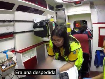 El testimonio de una paciente en Ambulancias