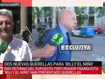 """Adolfo Rodríguez Gil, querellante contra 'Billy el Niño': """"Hay torturadores que pasean tranquilamente por la calle"""""""