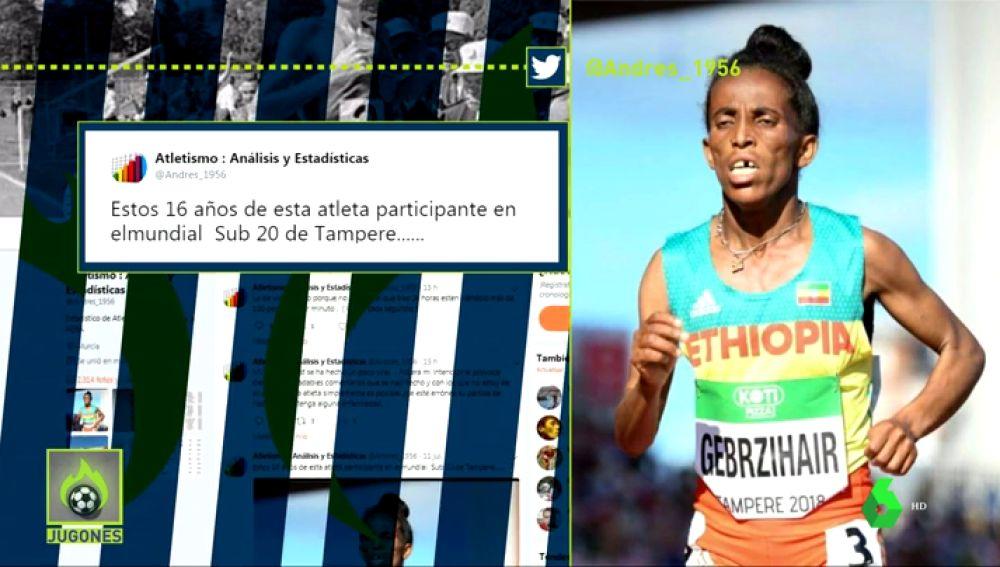 Edad atleta etiope