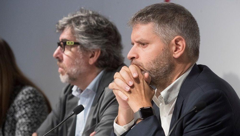 Jordi Pina y Andreu Van Den Eynde, abogados de los políticos presos