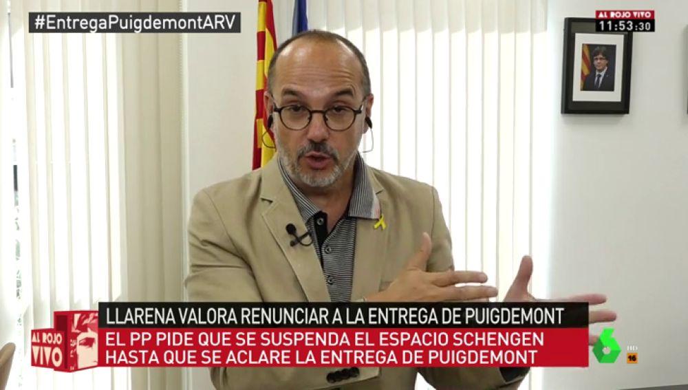 """Carles Campuzano, contento con el fallo alemán sobre Puigdemont: """"El PP se siente herido en el orgullo patrio español"""""""