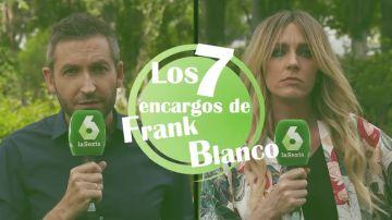 Preparar la merienda a Miki Nadal, cuidar a Chenoa... los deberes de Frank Blanco a Anna Simon para presentar Zapeando en verano