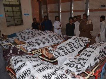 Personas asesinadas por Dáesh en Pakistán