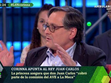 """Francisco Marhuenda, sobre las grabaciones de Corinna: """"Hay una campaña para cargarse al rey y la monarquía"""""""