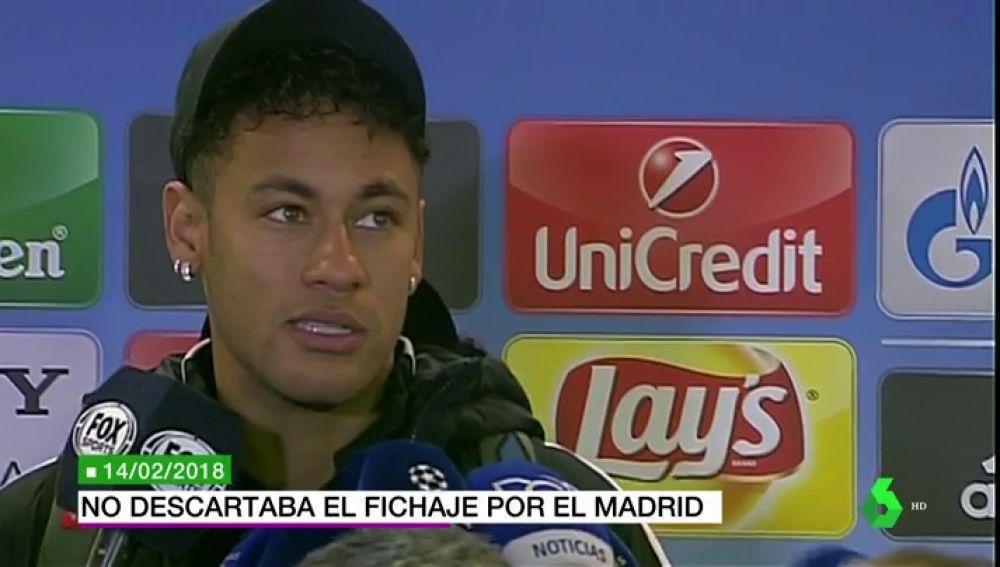 """laSexta Deportes (14-07-18) Neymar nunca ha descartado su fichaje por el Real Madrid: """"A ver... las cosas cambian tanto"""""""
