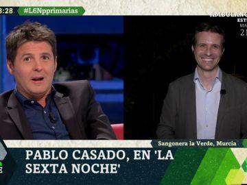 """La broma entre Cintora y Casado que podría convertirse en verdad: """"Vaya ojeador, le tienen que poner en la Selección Española"""""""