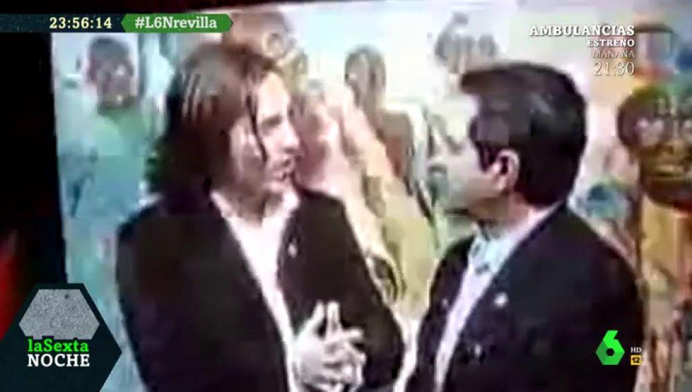 El día que Revilla corrigió a Bustamante cantando y otros grandes 'hits' del presidente de Cantabria