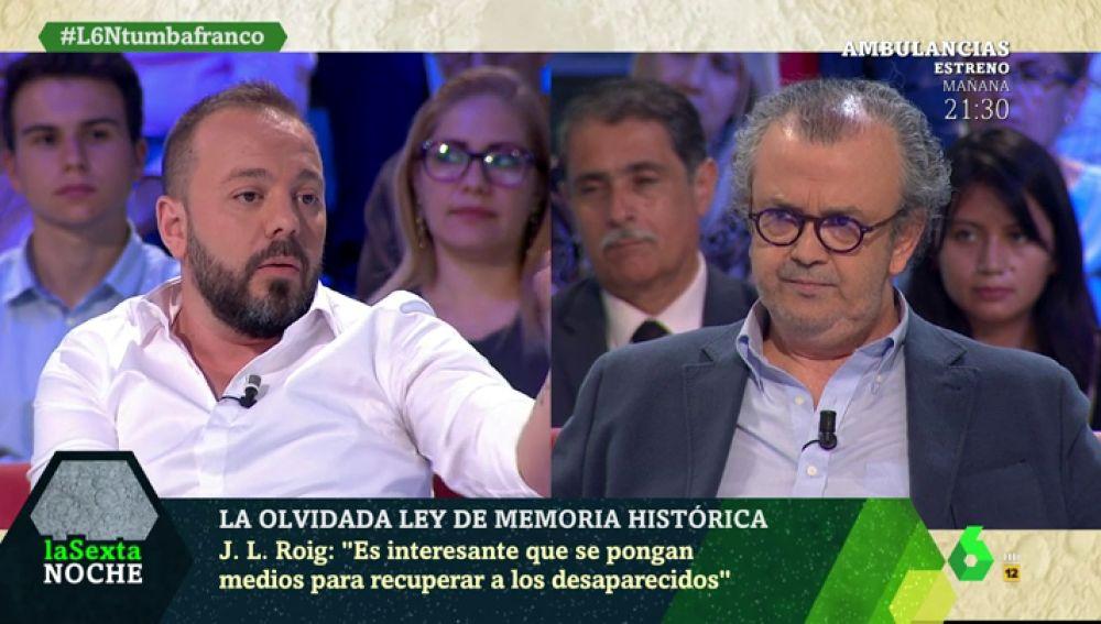 """Antonio Maestre: """"Decir que el Valle de los Caídos es un lugar de reconciliación es propaganda franquista"""""""