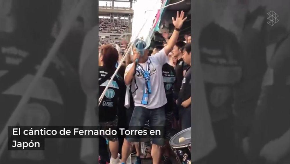 El nuevo cántico de la afición japonesa a Fernando Torres