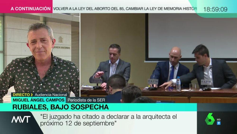 Miguel Ángel Campos en Más Vale Tarde.