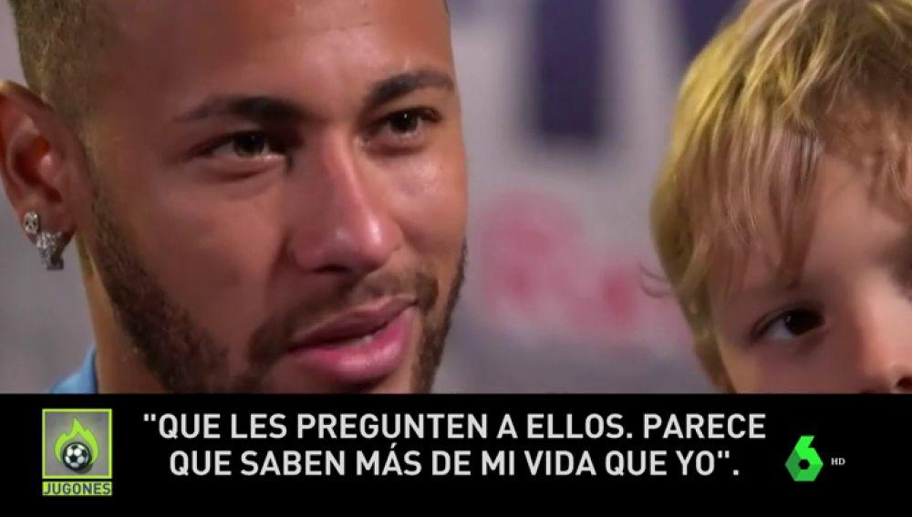 Neymar dice 'no' al Madrid y se enfada con la prensa