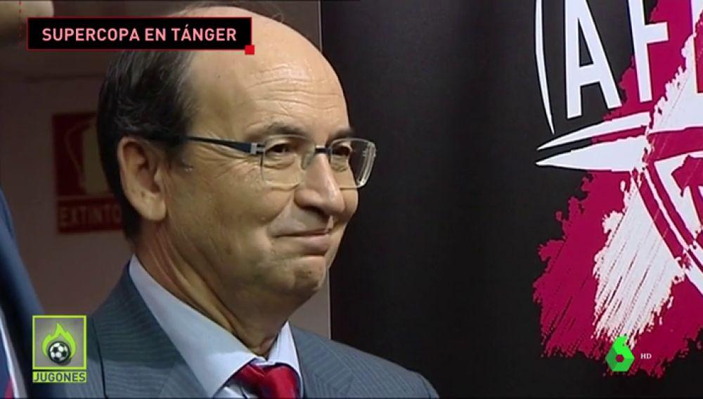 La final de la Supercopa de España se jugará en Tánger finalmente