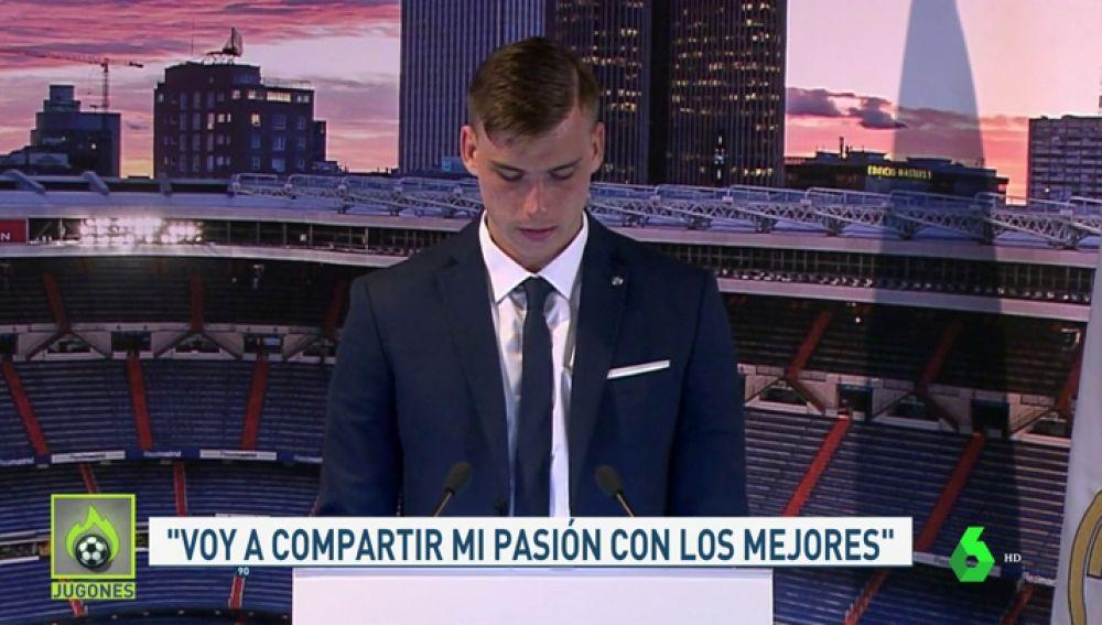 """Andriy Lunin: """"El Real Madrid siempre quiere más y con esto me identifico"""""""