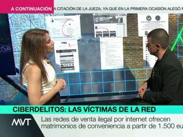 Silvia Barreras en Más Vale Tarde.