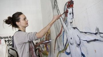 Oksana Chatchko, cofundadora y exmiembro del grupo feminista Femen