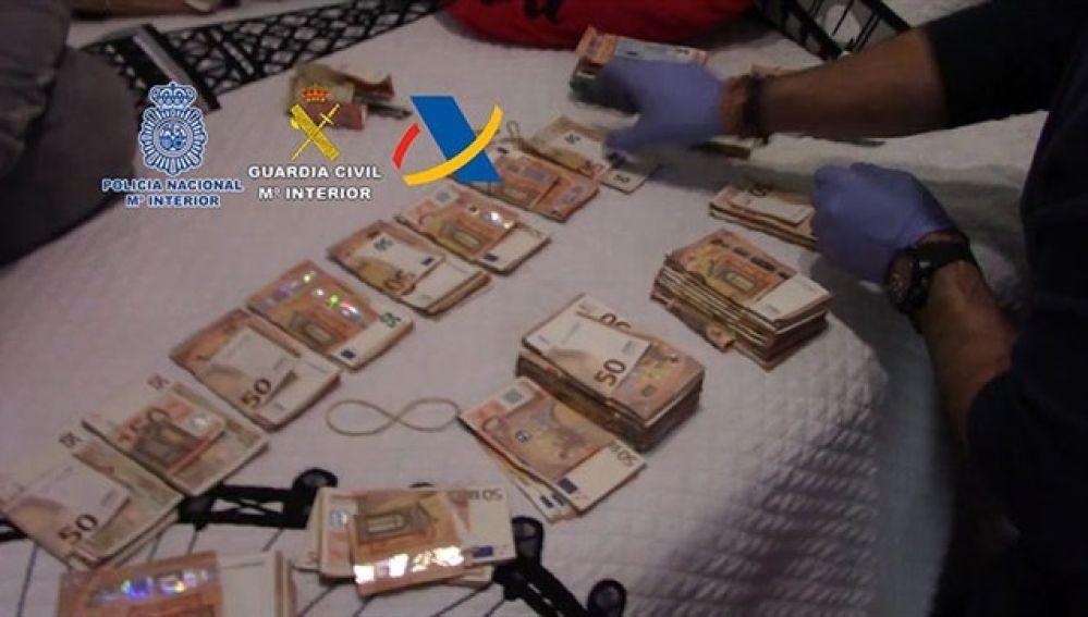 Imagen de la operación contra el narcotráfico