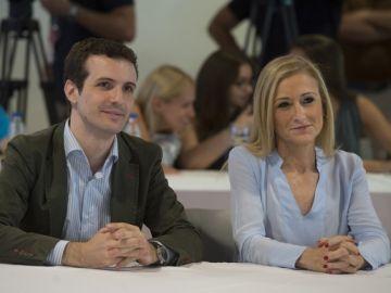 Pablo Casado y Cristina Cifuentes