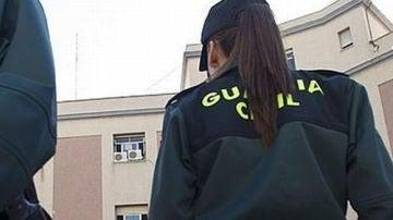 Imagen de archivo de una agente de la Guardia Civil