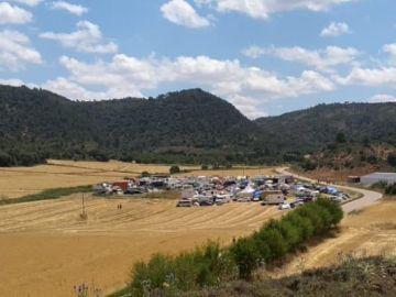 Imagen de la fiesta en Villar del Saz de Navalón