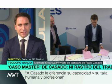 Teodoro García en Más Vale Tarde.