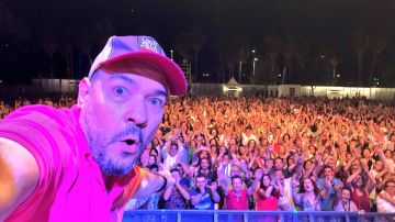 DJ Pulpo en una de sus actuaciones.