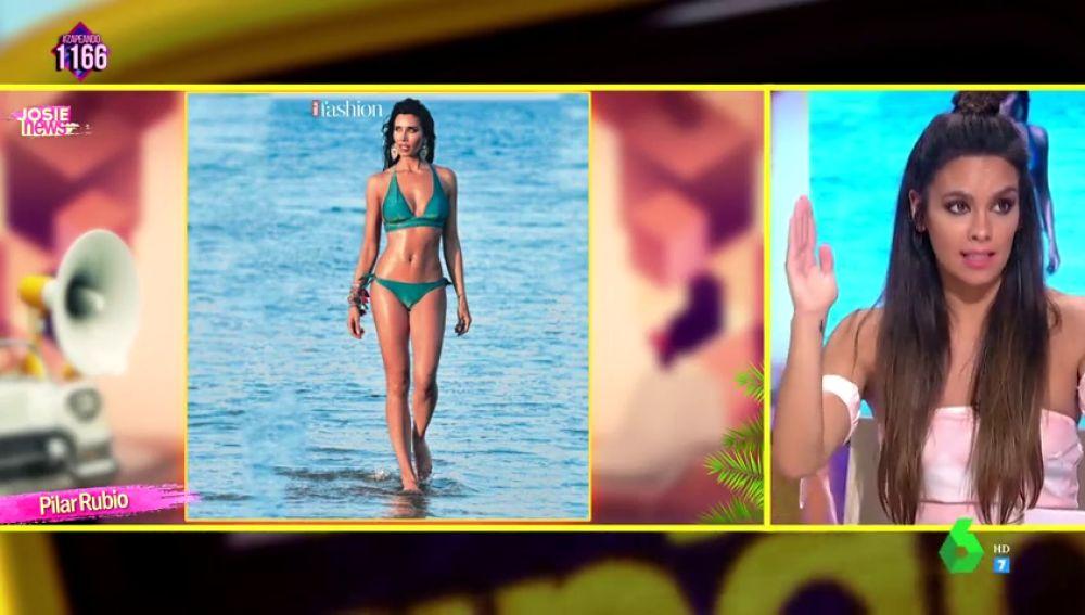¿Tiene Photoshop la polémica foto de Pilar Rubio?: Esto es lo que opinan Josie y Cristina Pedroche de la comentada imagen