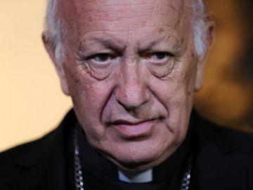 El cardenal Ricardo Ezzati