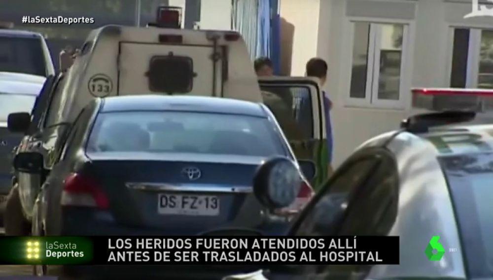 Tres hinchas heridos en un tíroteo en Chile