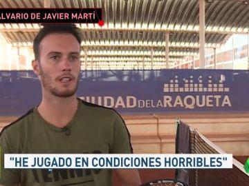 Promesa tenis español