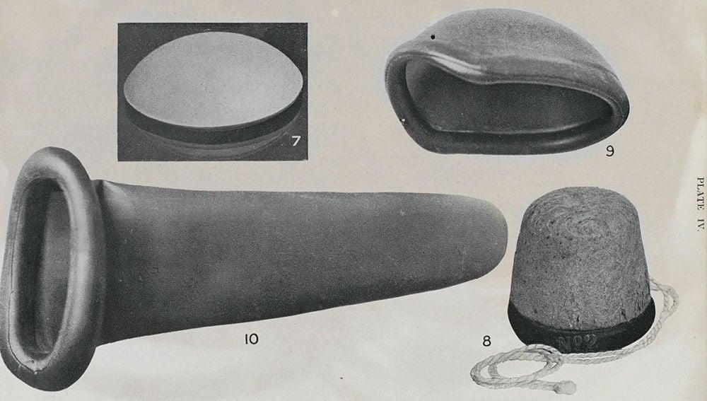 Condón femenino a principio del siglo XX