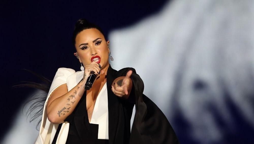 Demi Lovato en una imagen de archivo