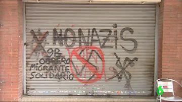 Imagen de pintadas antinazis