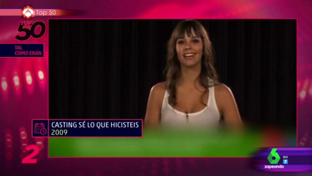 Cantando, bailando y hasta contando chistes, así lo dio todo Cristina Pedroche en su primer casting para SLQH