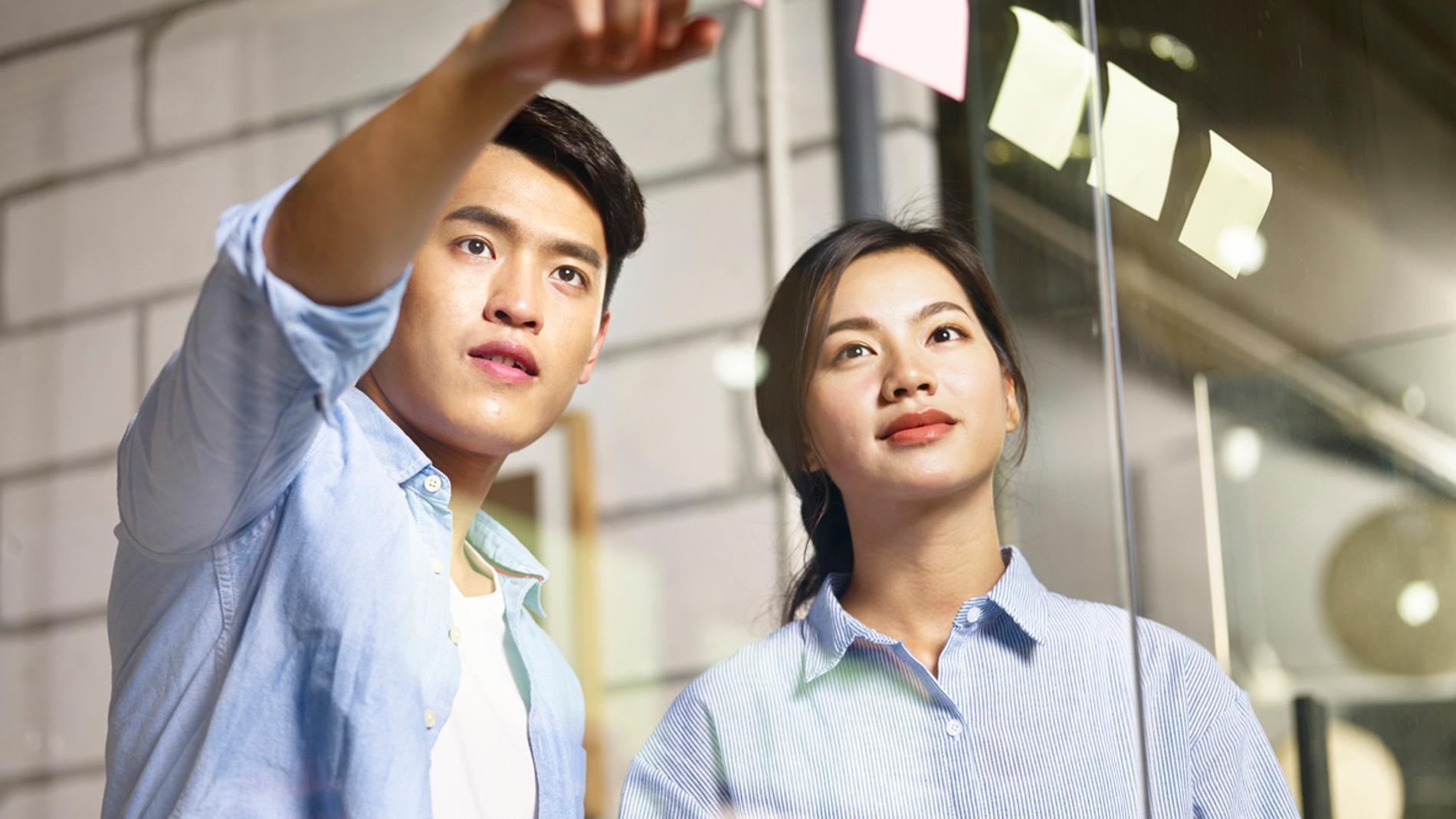 Trabajadores en Taiwan