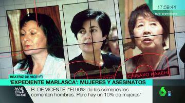 El perfil de las mujeres asesinas