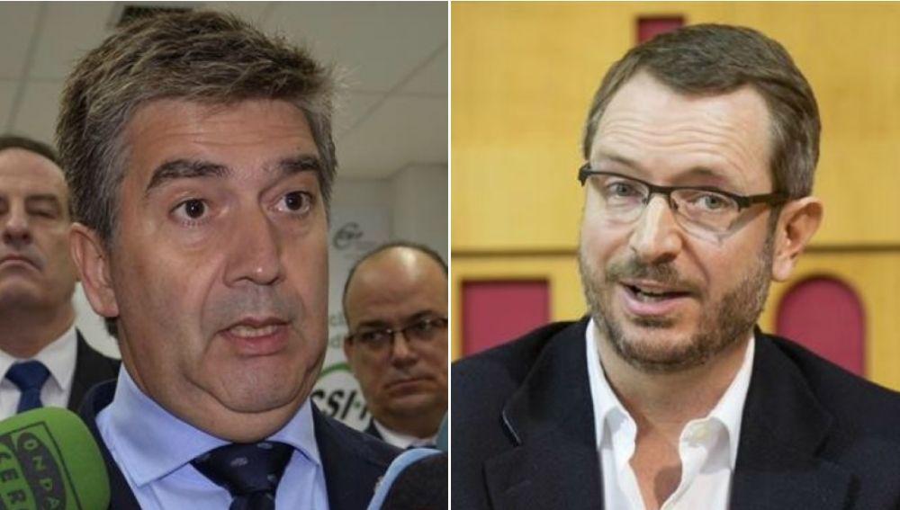 Ignacio Cosidó y Javier Maroto