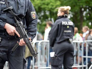 Foto de archivo de la policía alemana