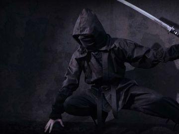Imagen de archivo de un ninja